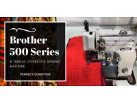 Brother 500 Series 5 Thread Industrial Overlock Sewing Machine