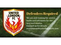 Talented Defenders Required - Get involved in a unique football project!