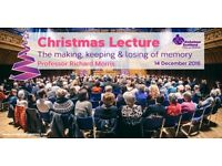Alzheimer Scotland Annual Christmas Lecture 2016