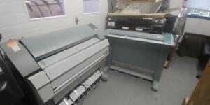Oce TDS400 PRINTER 36 wide format monochrome AND - TDS 400 scanner