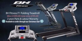 BH F1 Folding Treadmill