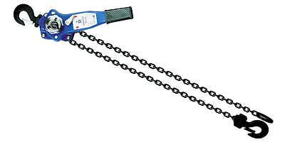 34t 5ft Lever Block Hoist Chain Ratchet Come Along Lcpr075f5
