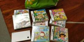 Nintendo dsi bundle and games
