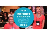 INTERNET SEMINAR: Proven Strategies to Start A Profitable Online Business in 2018