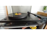 Moth Turntable, Rega RP2 clone with RB250 OEM Tonearm