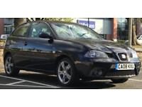 £1449! *2008 SEAT IBIZA SPORTRIDER (LIMITED EDITION) 1.4 *3 DR *BLACK *LOW MILES *MOT *IDEAL 1ST CAR
