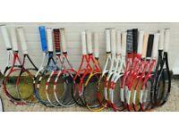 Tennis rackets for sale - improves/advanced players ...BABOLAT,WILSON,HEAD,YONEX,VOLKL
