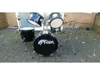 Tiger drum kit