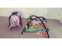 Baby Bouncing chair and Play mat