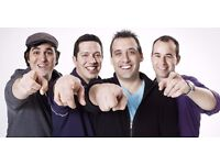 Impractical Jokers in the 3 Arena Dublin (2 seats are located- Middle Tier B , Row 23)