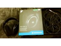 Sennheiser HD 598 Cs Around-Ear Closed Back Headphones - Black