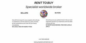 RENT TO BUY, SPAIN, FRANCE, ITALY, FLORIDA, PAY BY INSTALMENTS