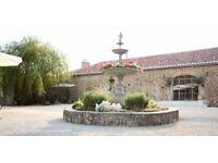Waiter/waitress beautiful vineyard restaurant South West France July/August, French speaker