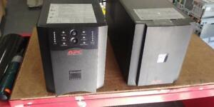 APC SUA1000XL Smart-UPS XL 1000VA 120V USB and Serial Interface *New Batteries*