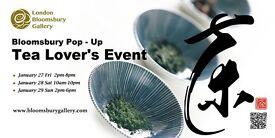 Bloomsbury Pop-Up Tea Lover event @ Bloomsbury Gallery London