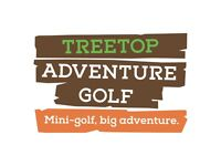 Adventurista - Team Member at Treetop Adventure Golf