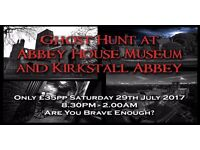 Ghost Hunting at Abbey House Museum & Kirkstall Abbey, Leeds