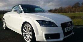 Audi TT - White - Convertible - *MUST SEE*