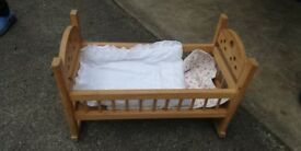 Toy cot for baby