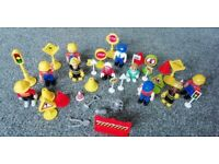Mini Figures and Accessories - Emergency Services & Construction (Great Condition)