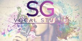 Singing lessons at SG Vocal Studio