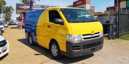 2009 Toyota Hiace LWB Manual Van (Petrol or LPG) #1203 Revesby Bankstown Area Preview