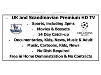 Best IPTV Subscription sports/movies/VOD/PPV/overseas channels