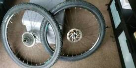 Wheels adult bike with brake disc (27.5 X 2.10)
