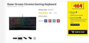 NEW Razer Ornata Chroma Gaming Keyboard