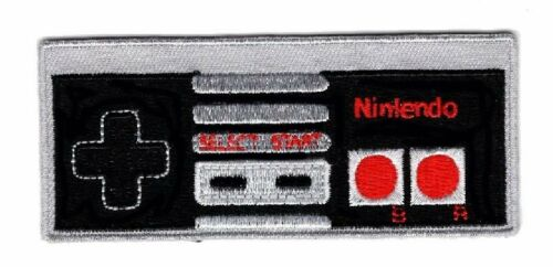Game Controller Nintendo Retro Classic 4.0 inch IRON ON Patch