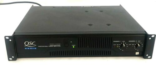 QSC RMX2450 Professional Stereo Power Amplifier S/N: 010729932, Tested & Working
