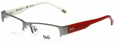 Dolce & Gabbana Designer Reading Glasses DD5074-491 in Gunmetal Red (Dolce And Gabbana Red Glasses)