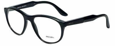 Prada Designer Reading Glasses VPR12S-1AB-1O1 in Black (Prada Designer Glasses)