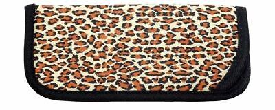 Jungle Fever Soft Slip-In Eyeglass Case Cheetah Animal Print Sewn Reinforced (Cheetah Print Eyeglasses)