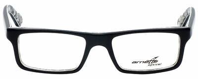 Arnette Designer Reading Glasses Lo-Fi AN7060-1119 in Black on Graphics (Graphic Designer Glasses)