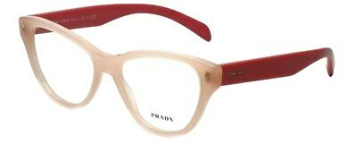 Prada Women's Eyeglasses VPR23S UEW101 52mm Light Pink NEW IN (Light Pink Glasses)