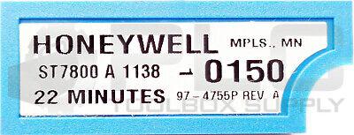 Honeywell St7800 A 1138 Timer Module 22 Minutes 0150