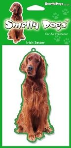 Irish Setter Breed of Dog Air Freshener