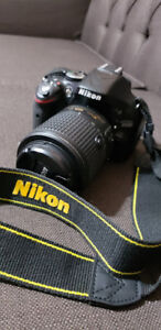 nikon d5200 dslr camera with lense
