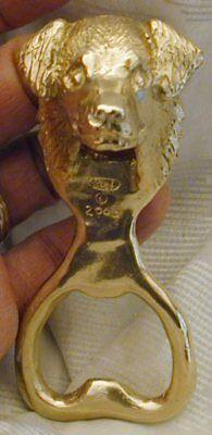 Australian Shepherd Bottle Opener Bronze