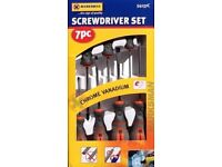 Marksman 7 Piece Screwdriver Set Slotted & Phillips