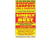 Simply The Best for Discount Carpets, Beds & Furniture