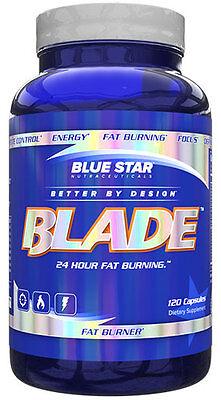 Blue Star Blade, Fat Burner, Free Shipping [120 - Blue Blade
