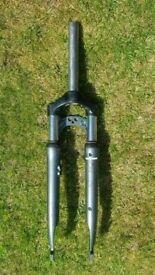 SR Suntour CR mark 2 forks for hybrid bike cantilever Rim brakes 1 1/8