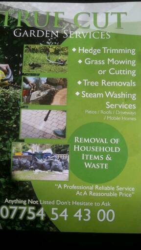 Garden services - power washing and waste removals
