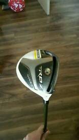 Taylor Made Rocketballz stage 2 3 wood stiff shaft
