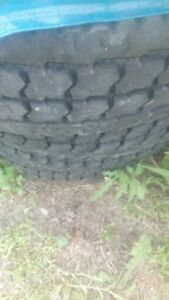 8 x11.24.5 Saleum summer tires