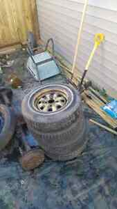 4 x 108 rims and tires