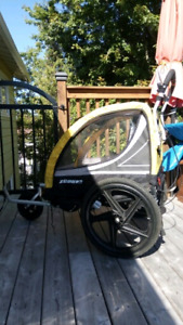 Bicycle trailer/stroller