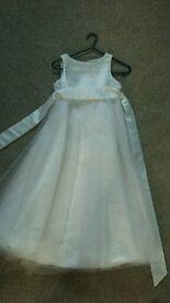 John Lewis girls bridesmaid dress age 8